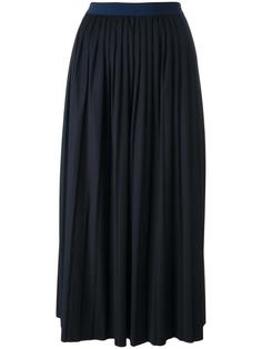 плиссированная юбка макси Erika Cavallini