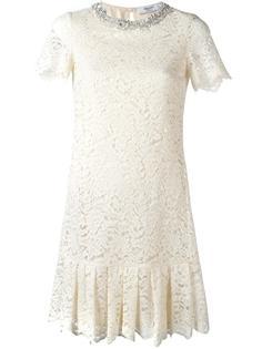 floral lace dress Blugirl