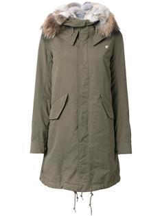 zipped mid coat Loveless