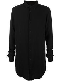 удлиненная рубашка в рубчик Poème Bohémien