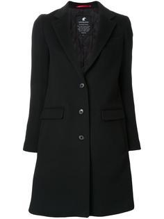flap pockets mid coat Loveless