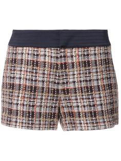 plaid tweed shorts Loveless