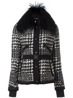 glen plaid jacket Moncler Grenoble
