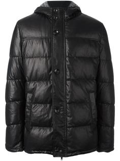 zip up padded coat Baldinini