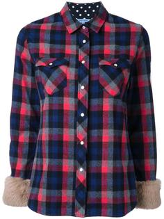 chest pockets checked shirt Guild Prime