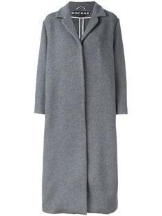 single breasted coat Rochas