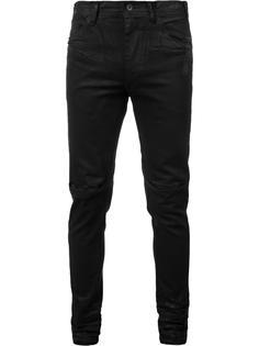 coated split knee jeans Julius