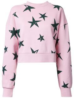'Stars' oversized cropped sweatshirt Être Cécile