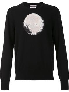 moon print jumper Michael Bastian