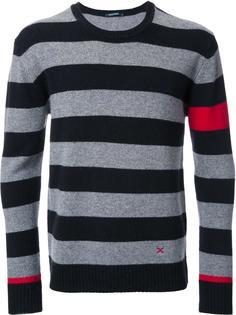 striped crew neck jumper Guild Prime