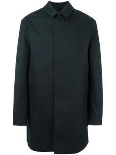 однобортное пальто Mackintosh
