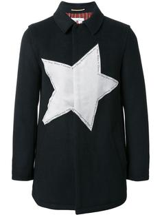 star patch short coat Education From Youngmachines