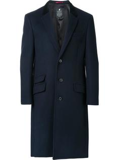 flap pockets mid coat Loveless