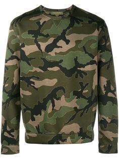 camouflage print sweatshirt Valentino