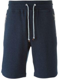 спортивные шорты с эластичным поясом Brunello Cucinelli
