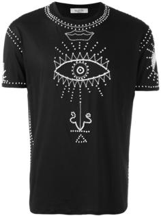 футболка с принтом символов Valentino