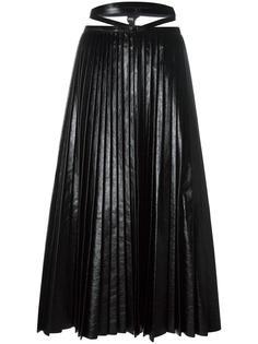 плиссированная юбка Valentino