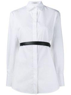 рубашка с поясом Valentino