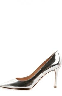 Туфли Сlassic из металлизированной кожи Gianvito Rossi
