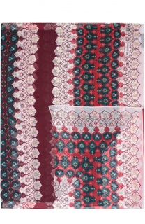 Шелковый шарф с принтом St. John