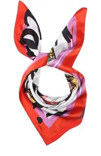 Шелковый платок с принтом Dsquared2