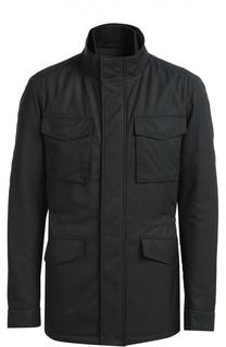 Удлиненная куртка с потайной застежкой-молнией BOSS