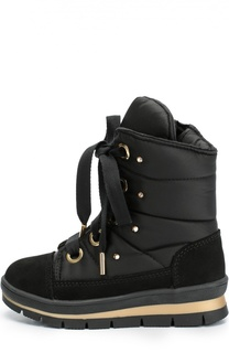 Текстильные ботинки на шнуровке Jog Dog