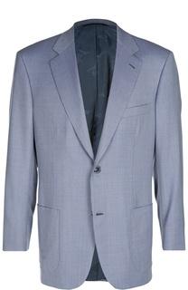 Шерстяной пиджак на двух пуговицах Brioni