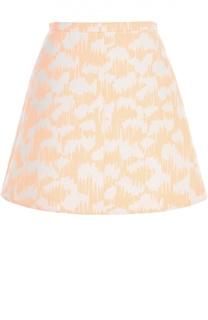 Мини-юбка с принтом Balenciaga