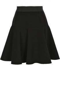 Расклешенная юбка с эластичным поясом Dolce & Gabbana