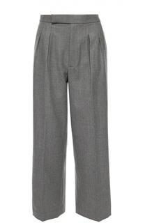 Широкие брюки прямого кроя с защипами Polo Ralph Lauren