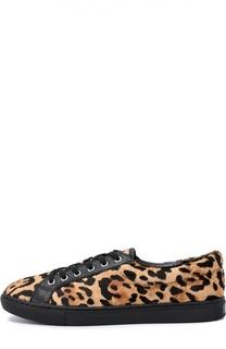Кеды с рисунком под леопарда Polo Ralph Lauren