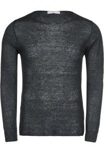 Меланжевый пуловер Daniele Fiesoli