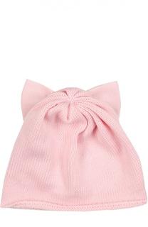 Шерстяная шапка с бантом Catya