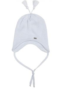 Вязаная шапка с кисточками Il Trenino