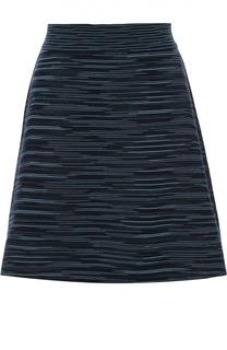 Вязаная мини-юбка А-силуэта M Missoni