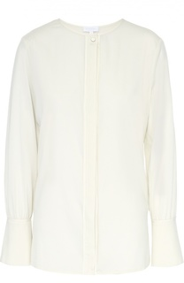 Блуза прямого кроя с круглым вырезом Escada Sport