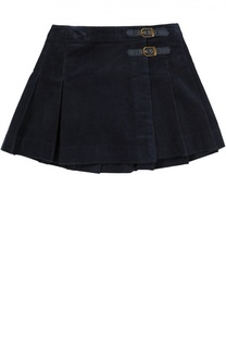 Вельветовая юбка в складку Polo Ralph Lauren