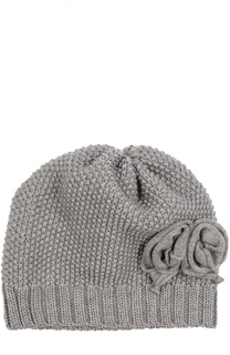 Вязаная шапка из шерсти Catya