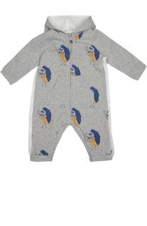Хлопковая пижама с капюшоном Marc Jacobs
