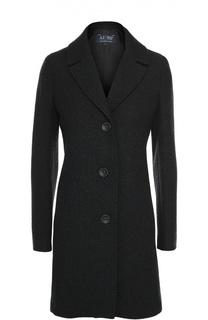 Приталенное шерстяное пальто Armani Jeans