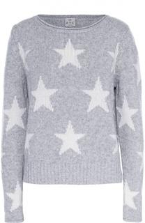 Пуловер прямого кроя с круглым вырезом и принтом в виде звезд FTC