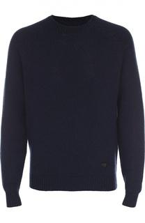 Джемпер из смеси шерсти и кашемира Armani Jeans