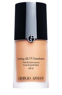 Lasting Silk Uv SPF20 тональный крем оттенок 5.5 Giorgio Armani