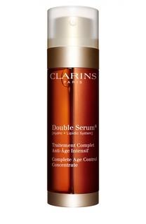 Комплексная омолаживающая двойная сыворотка интенсивного действия DOUBLE SERUM Clarins