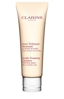 Смягчающий и очищающий пенящийся крем Clarins