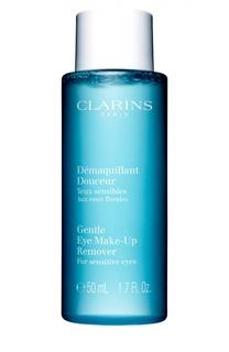 Смягчающий лосьон для удаления макияжа с глаз Clarins