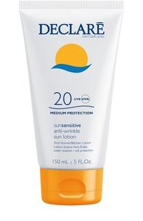 Солнцезащитный лосьон с омолаживающим действием Anti-Wrinkle Sun Lotion SPF 20 Declare