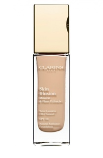 Увлажняющий тональный крем, придающий сияние коже Skin Illusion SPF10 107 Clarins