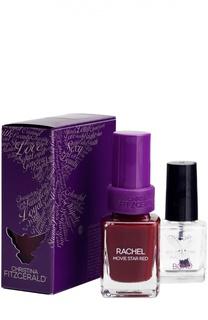 Лак для ногтей Rachel / Цвет ковровой дорожки + Bond-подготовка Christina Fitzgerald